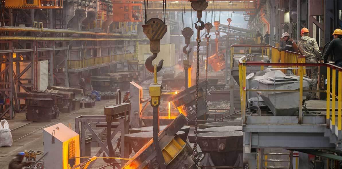metal works factory