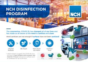 disinfection program frontpage