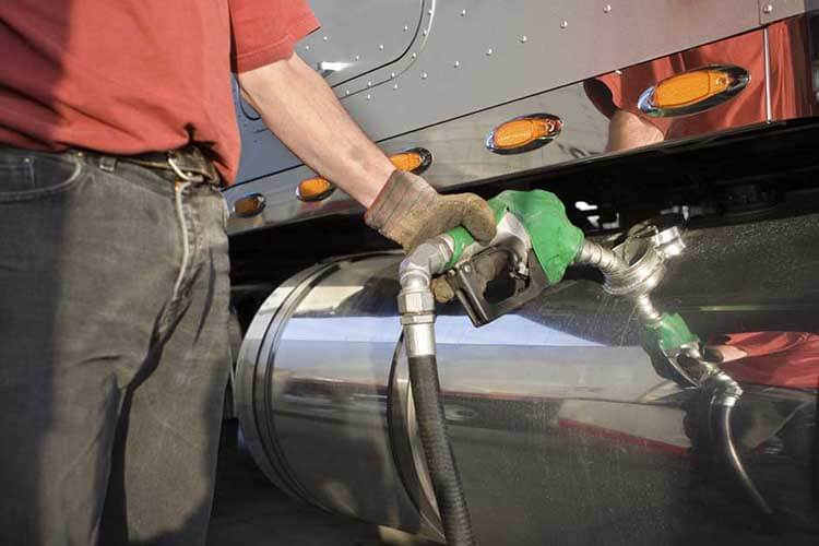 Diesel fuel additive at the pump